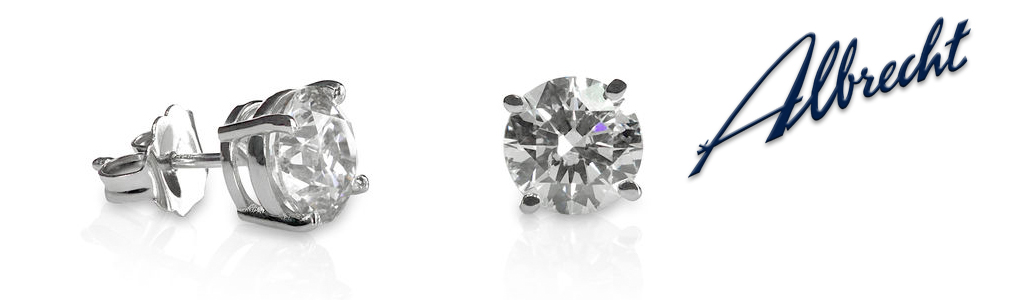 Solitaire Diamond Ear Rings